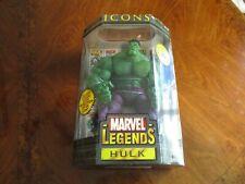 Hulk Marvel Legends HULK Icons, 12 Inch, Toybiz, Green,Sealed, New, Vintage