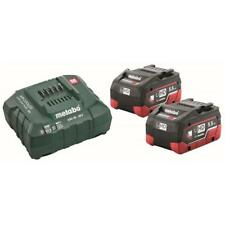 Metabo 18V LiHD Basis-Set inkl. 2 x 5,5Ah Akku und Ladegerät ASC 30-36 im Karton