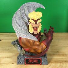 "Marvel X-Men Sabretooth Art Asylum's Rogues Gallery 6"" Bust w/ box & coa"