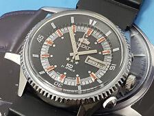 RARE Vintage Orient King Diver KD Black Dial Automatic Gents 3.