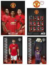 Official A3 Football Soccer Gift Manchester United Man Utd 2020 Premier Calendar