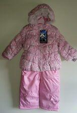 NWT $100 Zero Xposur Girls 2T Winter Coat & Bib Snow Pants SET Snow Suit PINK