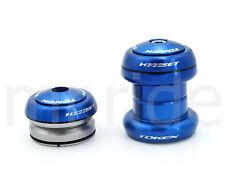 """Head set TOKEN """"Heggset"""" TK 060 for 1 1/8"""" Blue for integrated + threadless"""