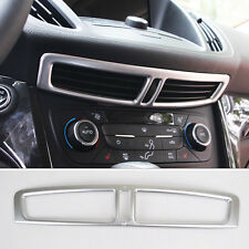 For Ford Escape Kuga 2017 2018 Chrome Center Console Air Vent Outlet Cover Trim