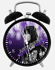 "Justin Bieber Alarm Desk Clock 3.75"" Home or Office Decor W76 Nice For Gift"