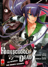 La Scuola Dei Morti Viventi - Highschool Of The Dead 5 (Shouji Sato) MANGA nuovo