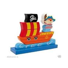 Pirate Ship Traditional Wooden Stackable Toy ELC
