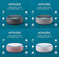 Amazon Echo Dot  3RD Generation With w/ Alexa Voice Media Device- ALL COLORS