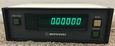 Mitutoyo ERC-2705 1-axis LCD Readout Display Unit DRO Read-Out 164-751 Japan