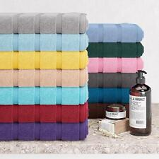 100% Egyptian Cotton Pack of 2 or 4 Face Hand Bath Towels Large Bath Sheet Towel