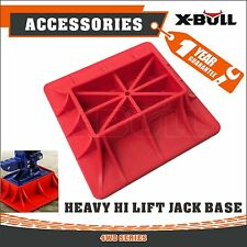 X-BULL 4X4 High Lift Farm Jack Base Plate 4WD Off Road Mud  Sand Recovery Kit