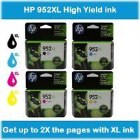 HP 952XL High Yield Single or Multi-Pack Ink Cartridges, Retail Box, EXP 2020