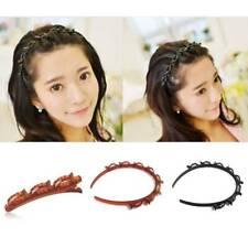 Double Bangs Hairstyle Hairpin Hollow Hair Clip Bangs Trendy Imitate Dreadlock