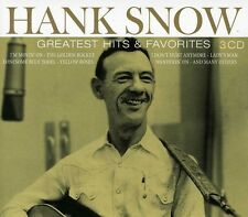 Hank Snow - Greatest Hits & Favorites [New CD] Holland - Import