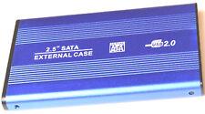 "USB SATA SSD HDD External Enclosure Case Box Caddy 2.5"" Hard Drive Laptop. 0243"