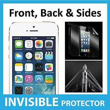 iPhone 5S Full Body INVISIBLE Screen Protector Shield Front, Back & Sides