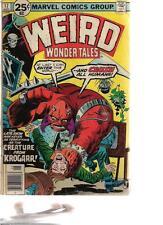 Weird Wonder Tales #17 (1976) Marvel Comics Vg