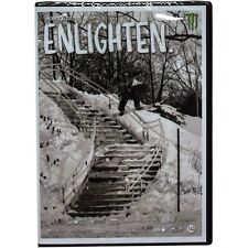 NWT KIDSKNOW DISTRIBUTION X VIDEOGRASS ENLIGHTEN DVD SNOWBOARD MOVIE
