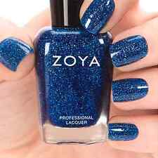 ZOYA ZP686 DREAM deep blue glitter nail polish lacquer~Zenith Collection Fall 13