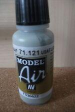 AIRBRUSH PAINT  - AV Vallejo Model Air  17ml Bottle -  USAF Light Grey VAL121