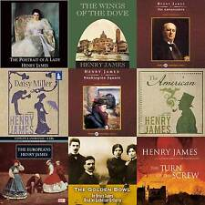 Henry James - Audiobook Collection on mp3 DVD