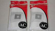 2 Pack of Dirt Devil Canister Vacuum Cleaner Type AC Bags Genuine Part AD10035