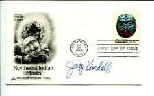 Jerry Kindall Arizona Wildcats College HOF Chicago Cubs Signed Autograph FDC