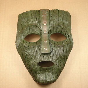 NEW Resin Replica The Mask Loki Mask Movie Prop Memorabilia With Stripe