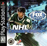 NHL Championship 2000 (Sony PlayStation 1, 1999)
