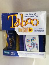 Taboo To Go Travel Game 2007 Hersch & Company Hasbro New Sealed