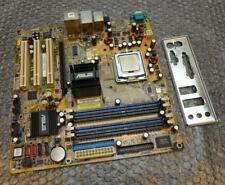 Asus P5GD1-FM/S Rev.1.01 Prise 775 Mère avec Processeur et Plaque Arrière