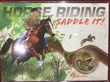 2013 $1 Young Collectors Horse Riding Uncirculated Coin