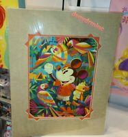 Disney WonderGround Gallery Aloha Mickey Mouse Dlx Print Dole Whip Jeff Granito