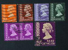 Hong Kong 1973 Queen Elizabeth II - Used not hinged