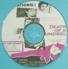 DRAMA DR77: DEATH OF A SCOUNDREL (1956) George Sanders, Yvonne De Carlo
