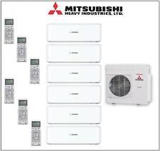 6-Split-Klimaanlage Mitsubishi SCM125ZM + je 2x SRK20/25/35ZS 12/13,5kW Inverter
