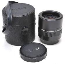 * VIVITAR TELE 3X-1 M42 CONVERTER W/ FRONT AND REAR CAPS & CASE