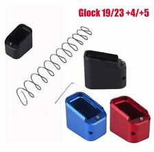 Extension Magazine Pad Holder Base Dock Kit with Spring For Glock 19 Glock G23
