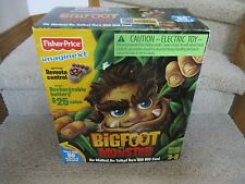 Fisher Price Imaginext NEW Bigfoot the Monster Remote Control Figure in Box Rare