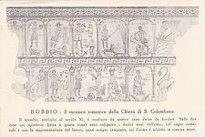 BOBBIO - Il mosaico romanico della Chiesa di S. Colombano 1957