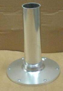 "Garelick 75030-12 Aluminum Pedestal 12"" Height 2-7/8"" Dia. 9"" Dia. Base 20345"