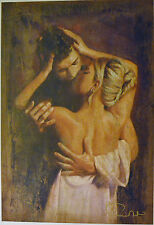 TOMASZ RUT IN SPERO GICLEE ON CANVAS SIGNED/# 84/95 W/COA 22X32 STUNNING