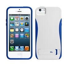 Case-Mate POP! Case with Stand - To Suit iPhone 5  - White/Marine Blue