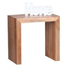 Wohnling Akazie Beistelltisch WL1.583 Massivholz 60 x 35 x 60 cm Holz Massiv Neu