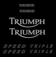 Aufkleber Triumph Speed Triple 1050 2008