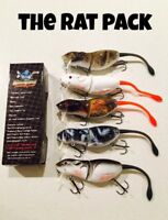 NEW 9cm Killer Crank Mice Fishing Lure - Bass, Murray Cod, Perch + More