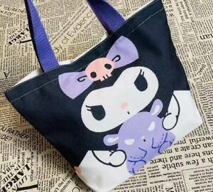 kuromi Tote Bags Handbag lunch bags shopping bag X'mas GIFT