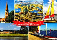 Das Neue Fränkische Seenland ,AK 1995 gel.