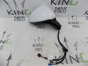 PORSCHE CAYENNE 2011-2017 RIGHT DOOR SIDE WING MIRROR WITH CAMERA WHITE #22