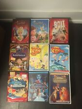 Disney Movies DVDs (With Some Blue-Rays)